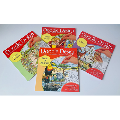 Doodle Designs Colouring Book