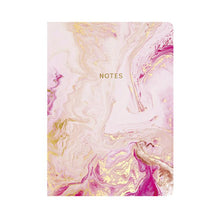 Load image into Gallery viewer, Go Stationery Marbleous A5 Notebook - Rose Quartz