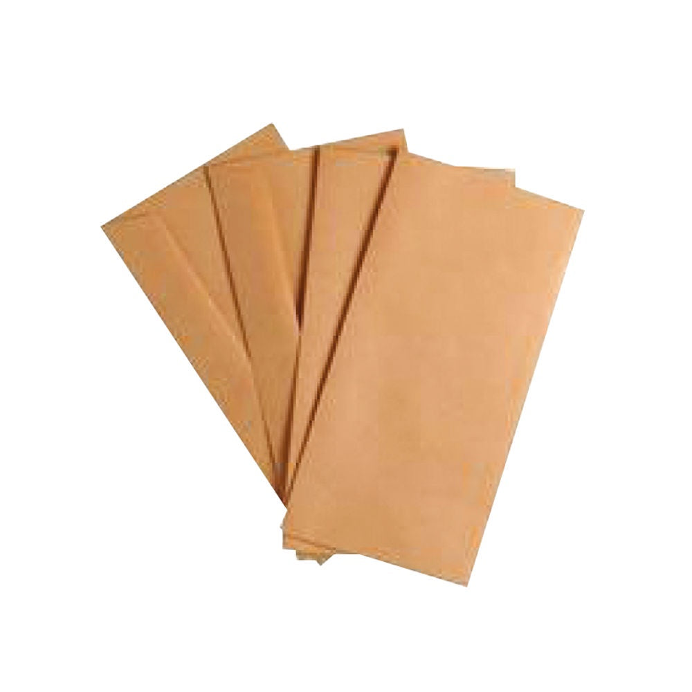 Q-Connect DL Envelopes Wallet Gummed 70gsm Manilla Pack 50