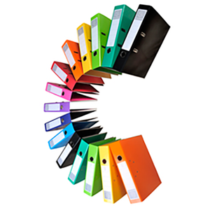 Iderama PremTouch Lever Arch File, 2rings, A4, 70mm spine