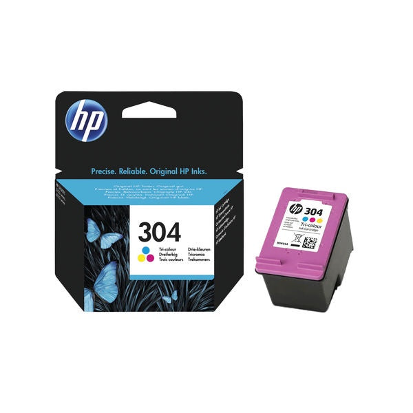 HP 304 Tri Colour
