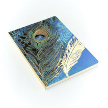 Load image into Gallery viewer, Go Stationery Opium Peacock A5 Notebook