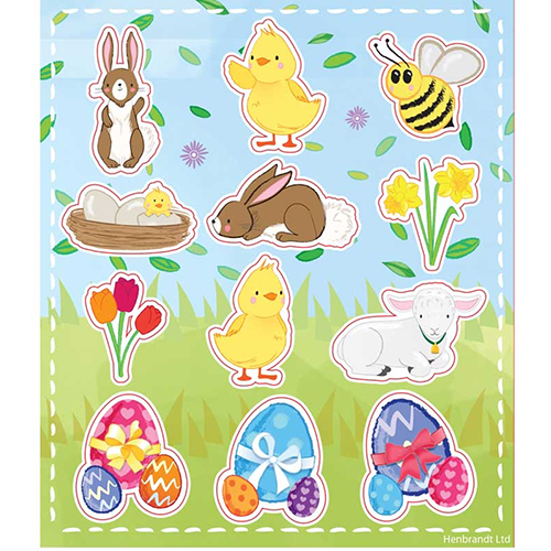 Easter Time Stickers