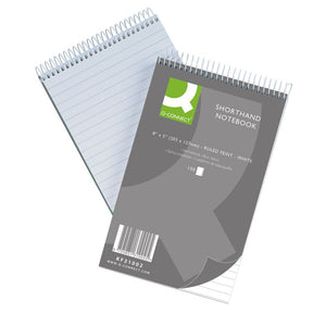 Q Connect Shorthand Notebook 150lf