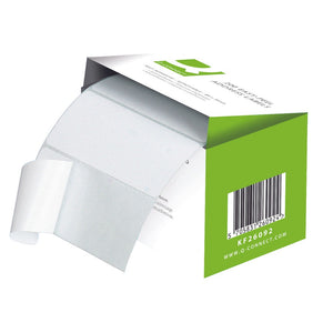 Q-Connect Address Label Roll Self Adhesive 89mmx36mm White (200 Pack)