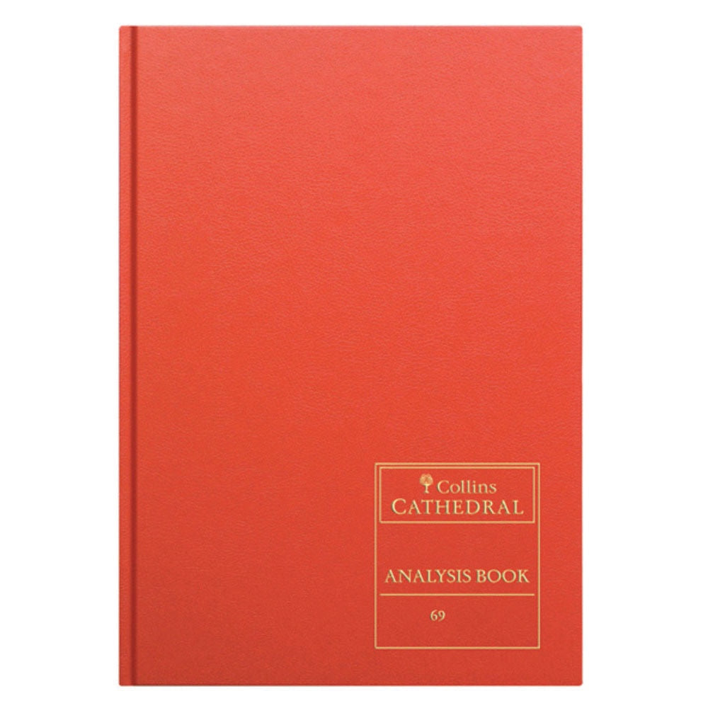 Cathedral Analysis Bk 96p Red 69/16.1