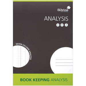 Bookeeping Analysis Accounts Book A4