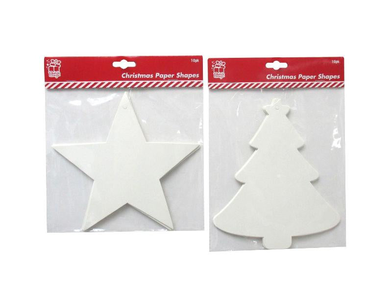 Christmas Card Shapes