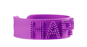 Tinc Worded Slapband - Purple