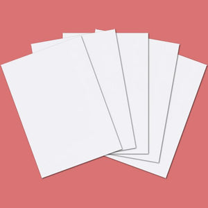 A3 White Card 160gsm Single