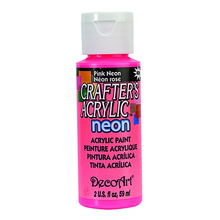 Load image into Gallery viewer, Deco Art Crafters Acrylic Paint Neon 59ml
