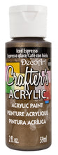 Load image into Gallery viewer, Deco Art Crafters Acrylic Paint Metallic 59ml