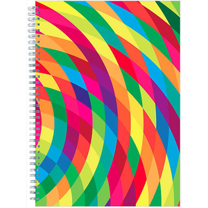 Abstract Notebook A5 Wiro