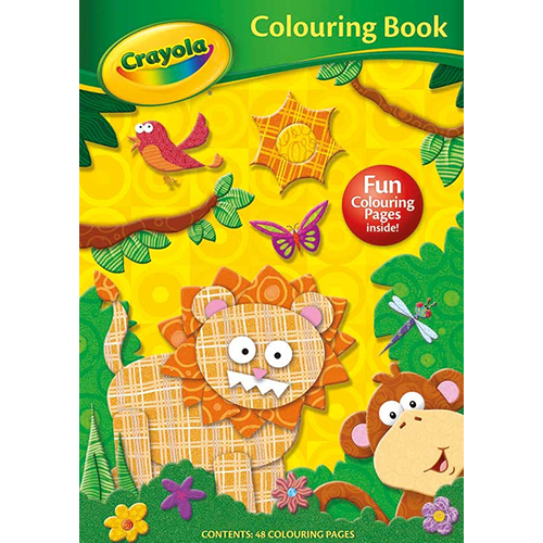 Crayola Jungle Colouring Book