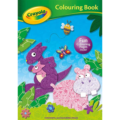 Crayola Creative Colouring Book Hippo
