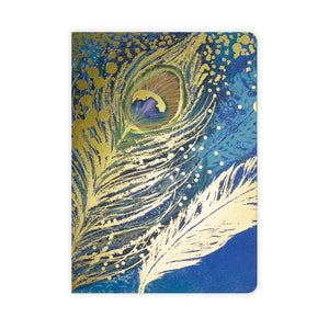 Go Stationery Opium Peacock A5 Notebook