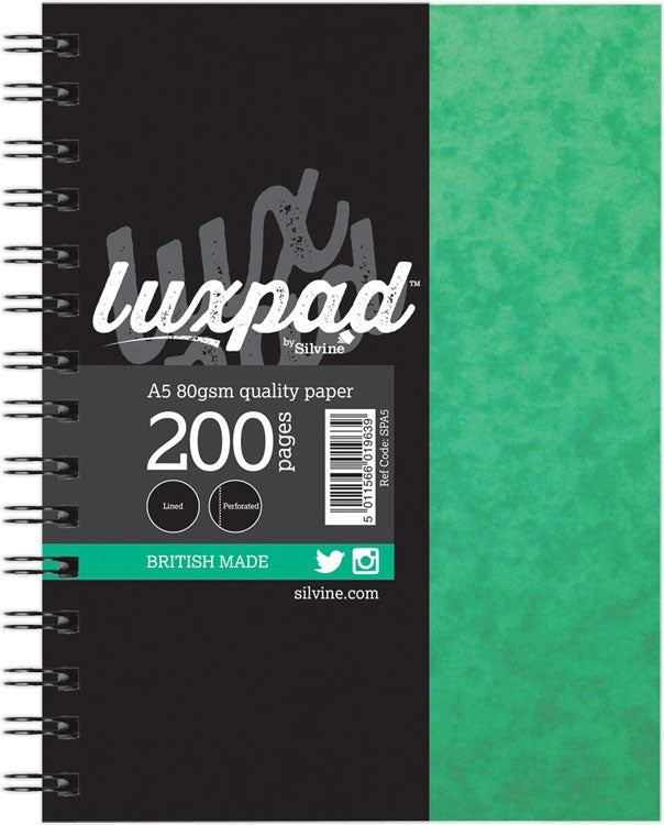 Luxpad A5 Spiral Notebook