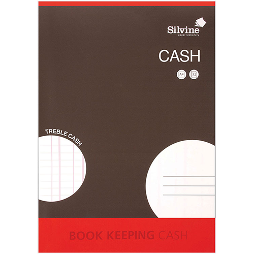 Bookeeping Cash Accounts Book A4