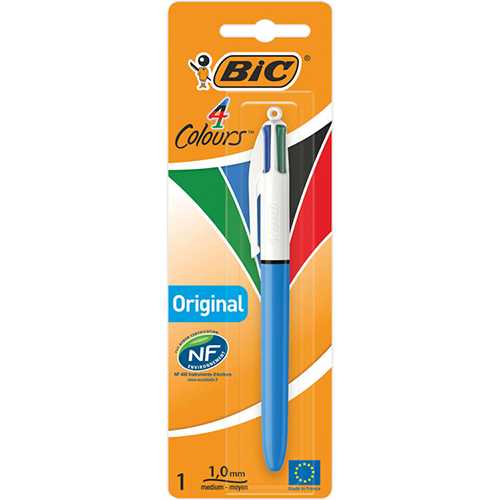 Bic 4 Colours Blister