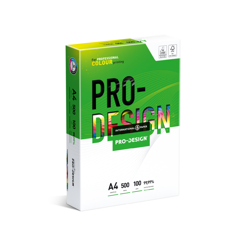 Pro Design A4 100gsm White Premium 500 Sheets