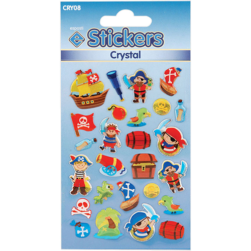 Crystal Stickers Pirates