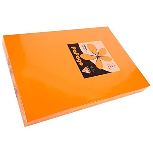 Papago Tangerine A4 160gsm (Pack 250)