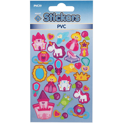 PVC Fairy Tale Stickers