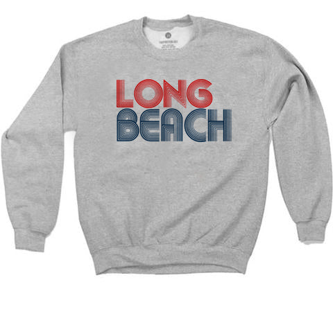 Long Beach 76 Sweatshirt - Heather Grey