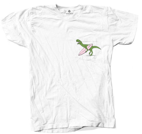 Surf Dino Pocket - White