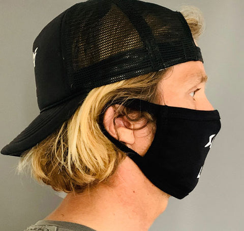 Surf LBC - Facemask - Black