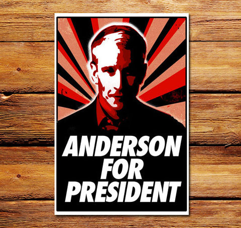 Anderson For President Poster