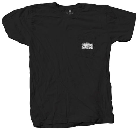 Boombox Pocket - Black
