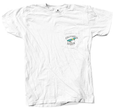 California Rollin' Pocket - White