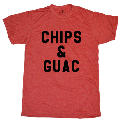 Chips & Guac - Heather Red