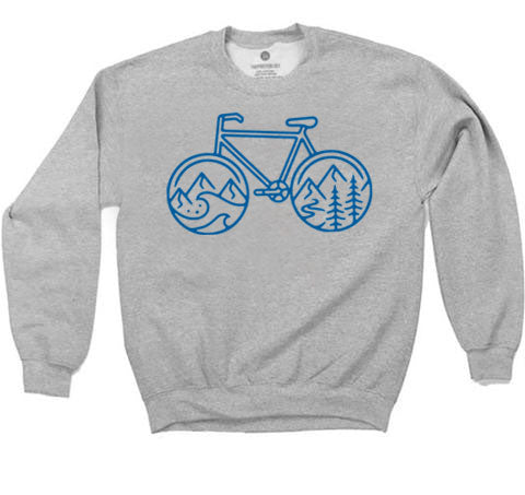 Cycle Nature - Sweatshirt - Heather Grey