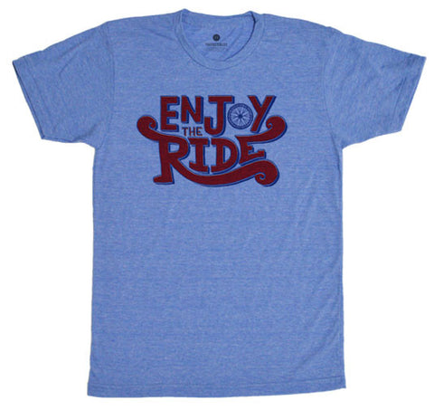 Enjoy The Ride TriBlue T-Shirt