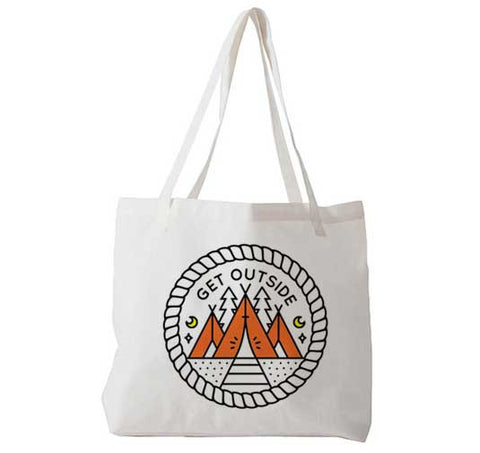 Get Outside - Tote Bag