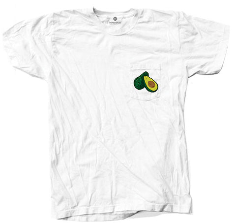 Avocado Pocket - White