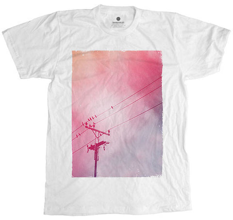 Hydrobirds White T-Shirt