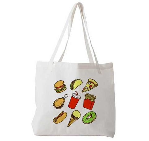 Junk Food - Tote Bag