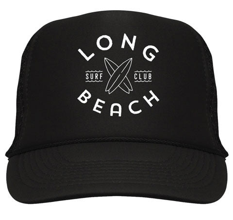 Long Beach Surf Club - Black