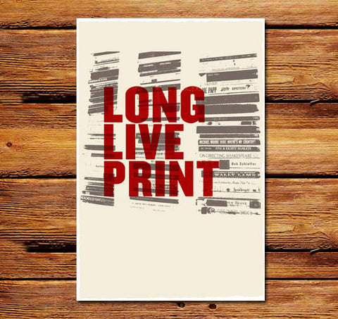 Long Live Print Poster