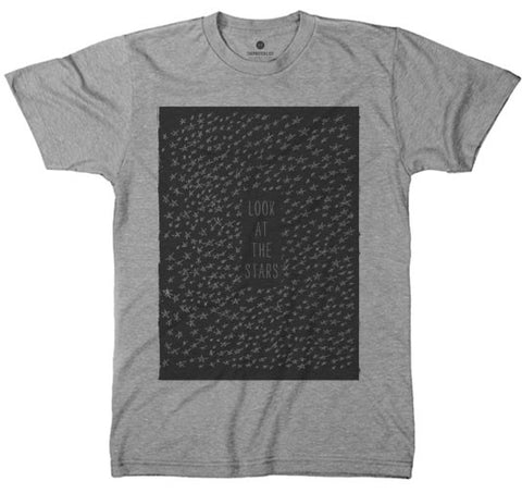 Look At The Stars Tri-Grey T-Shirt