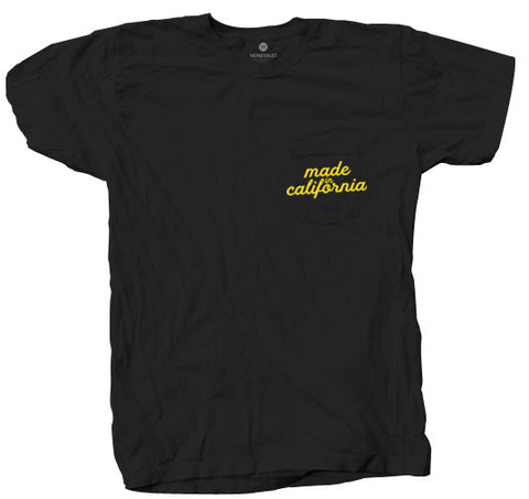 Made In California Pocket - Black