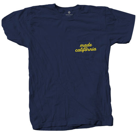Made In California Pocket - Navy