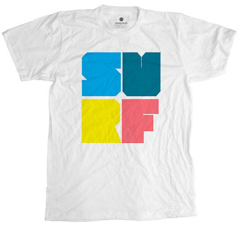 Pastel Surf White T-Shirt