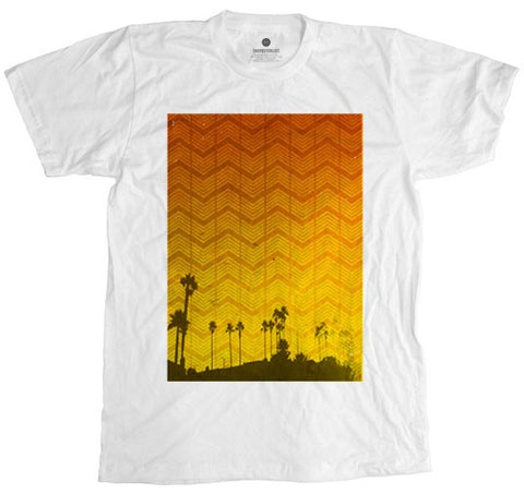 Newps Palms 1 White T-Shirt
