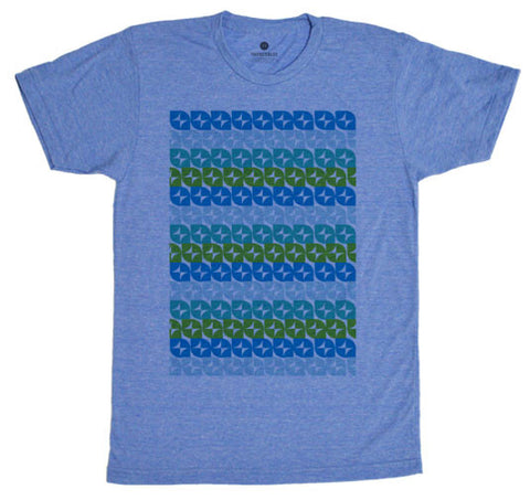 Pattern One TriBlue T-Shirt