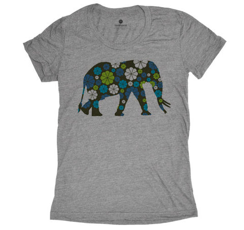 Pattern Elephant - Grey