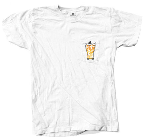 Pint Of No Return Pocket - White